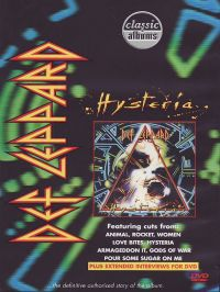Cover Def Leppard - Hysteria [DVD]